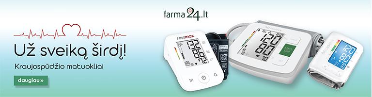 Kraujospūdžio matuokliai pigiau | Farma24.lt